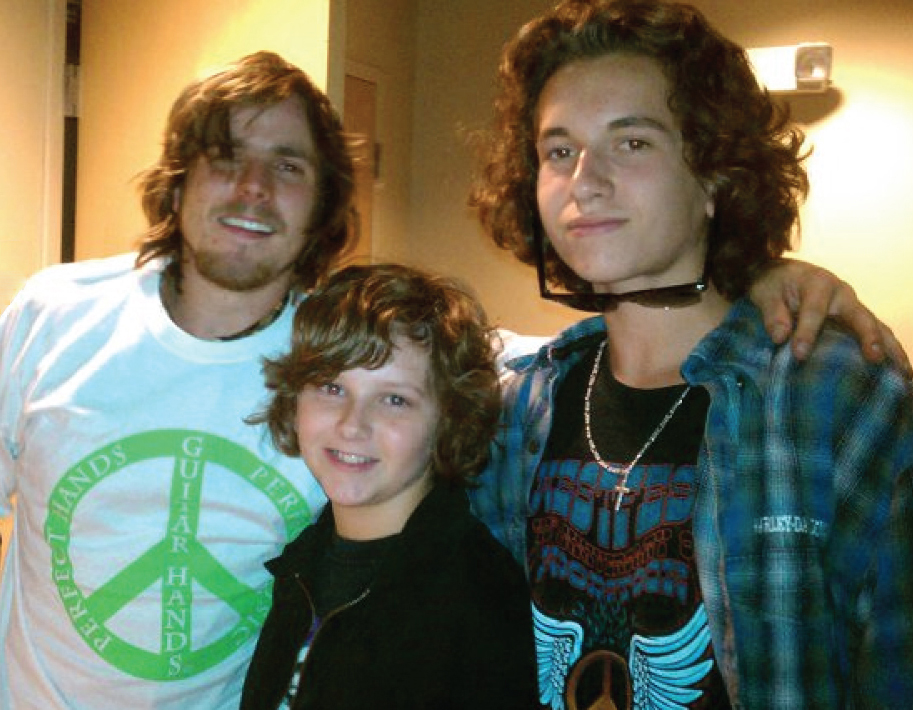Lukas Nelson, Jeff, and Jer
